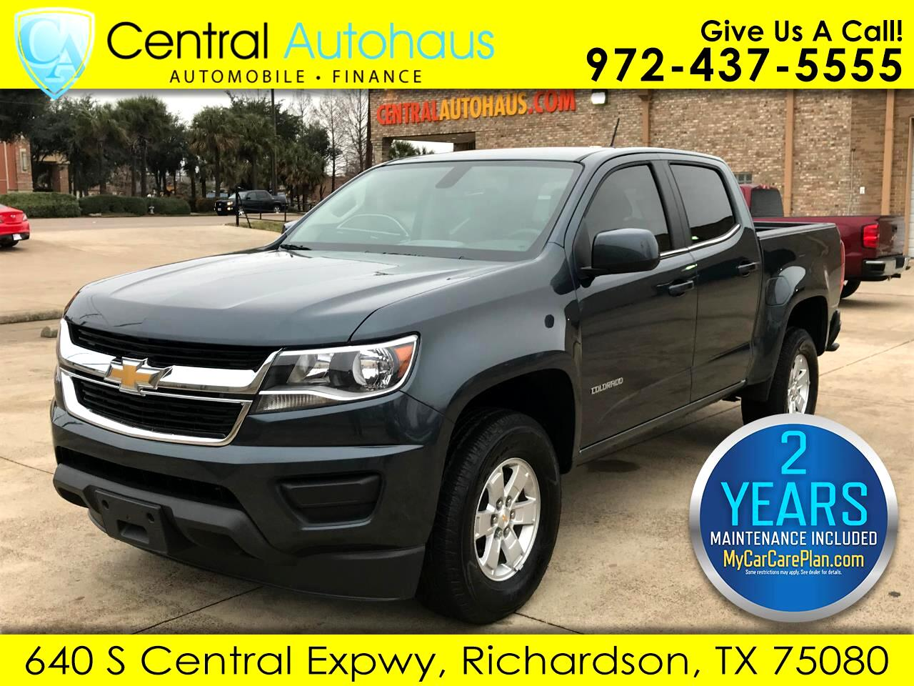 "Chevrolet Colorado 2WD Crew Cab 128.3"" Work Truck 2019"