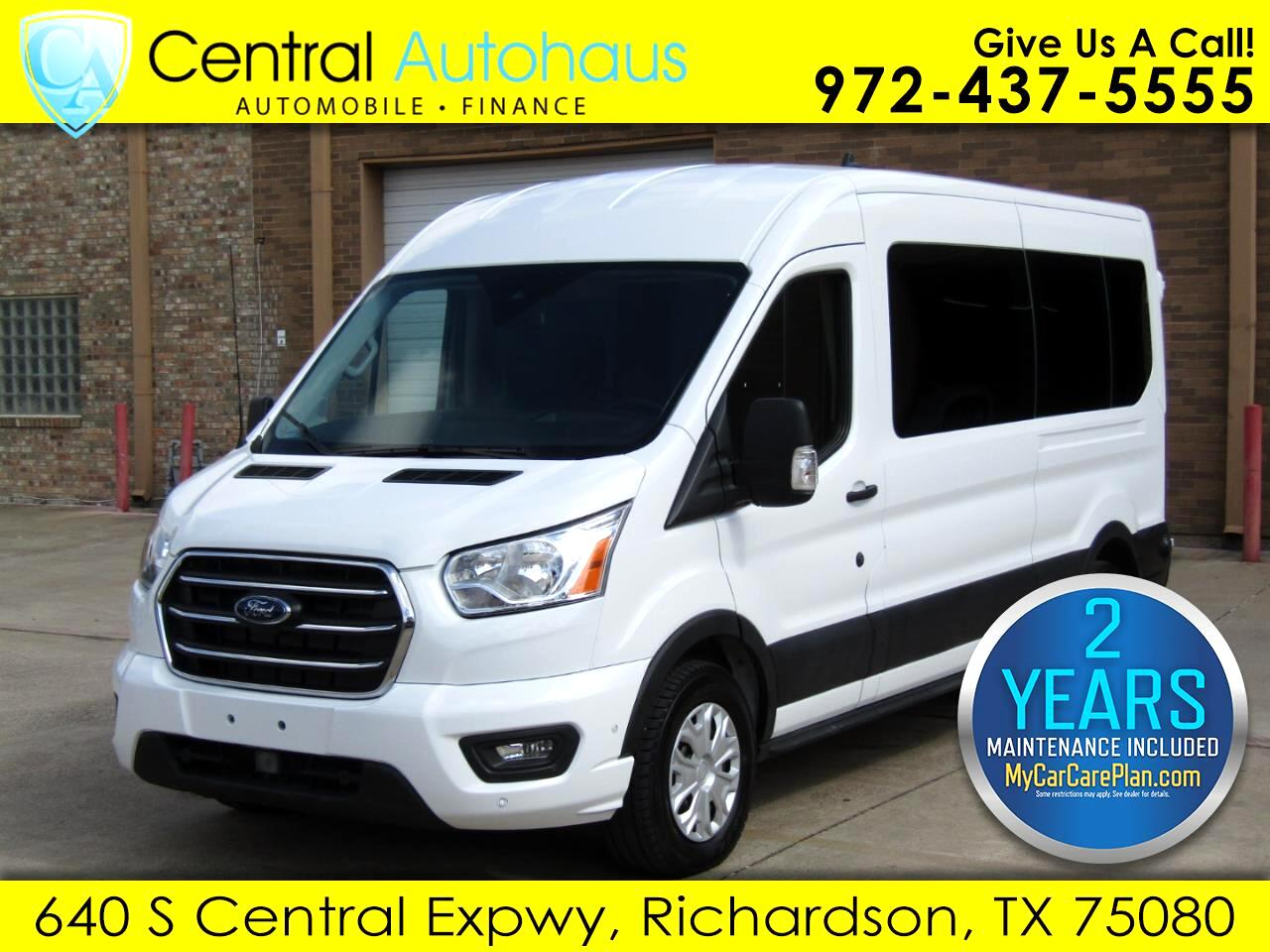 "Ford Transit Passenger Wagon T-350 148"" Med Roof XLT RWD 2020"