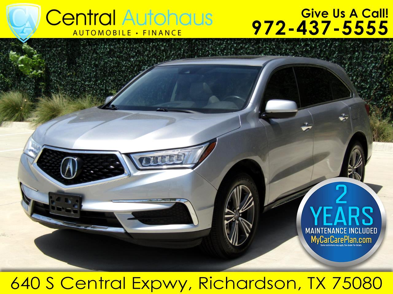 Acura MDX 6-Spd AT w/Tech Package 2017