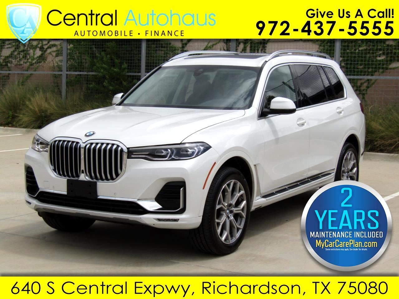 BMW X7 xDrive40i Sports Activity Vehicle 2020
