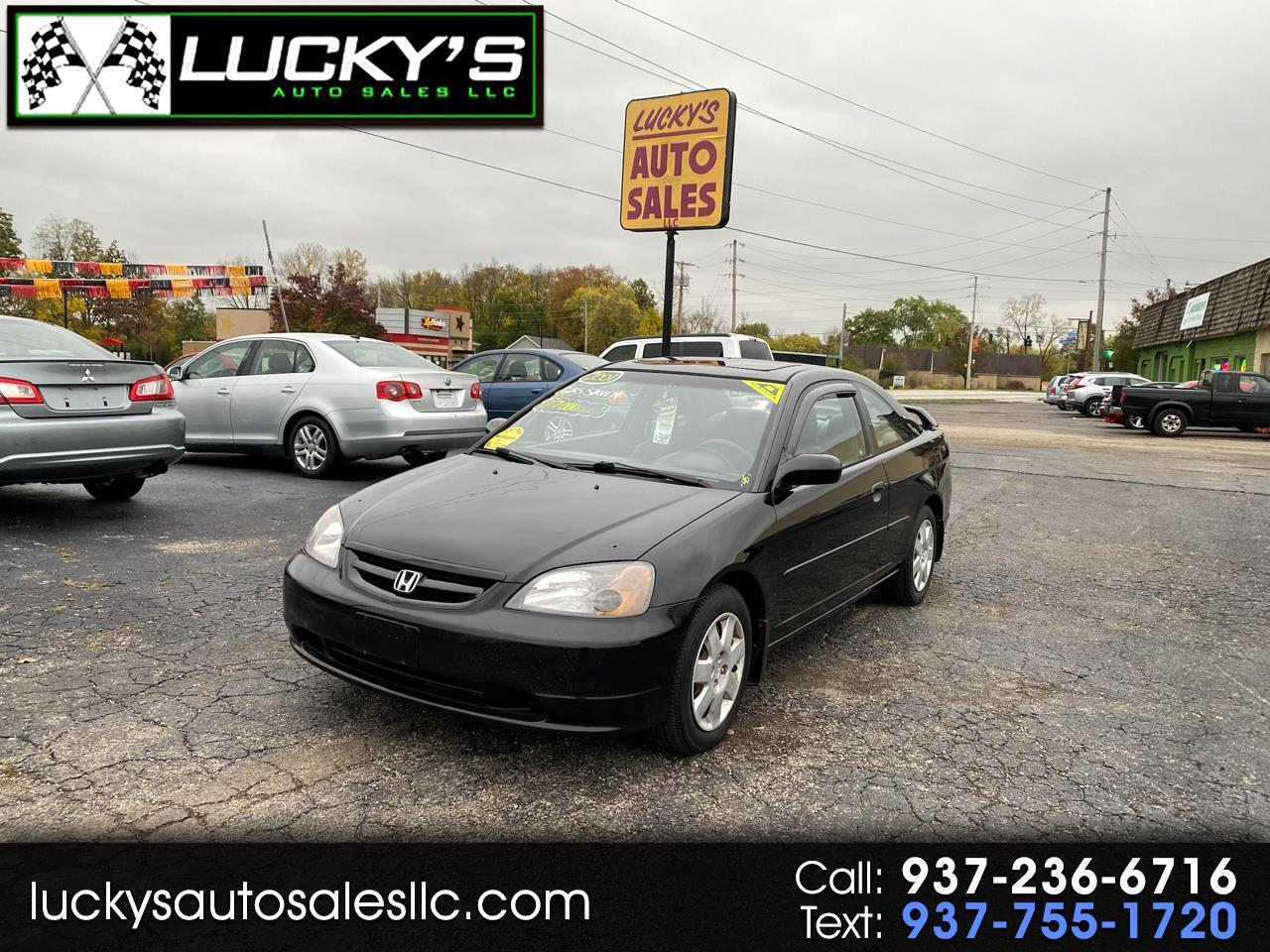 Honda Civic EX coupe 2001