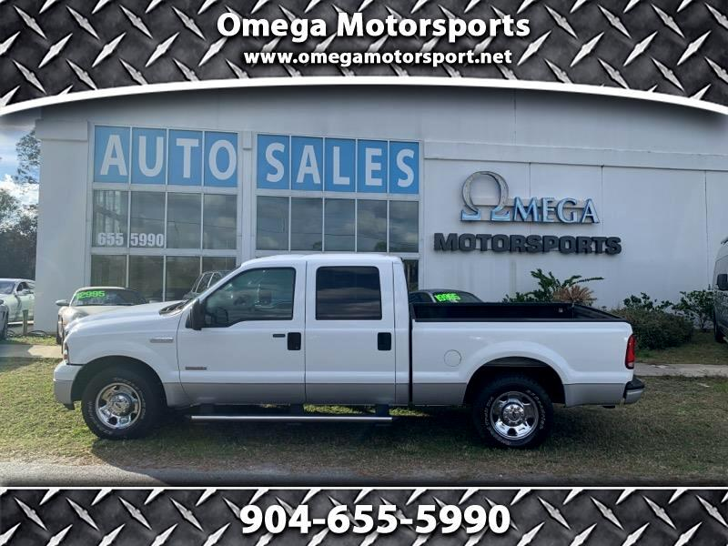 "2005 Ford Super Duty F-250 Crew Cab 156"" XLT"