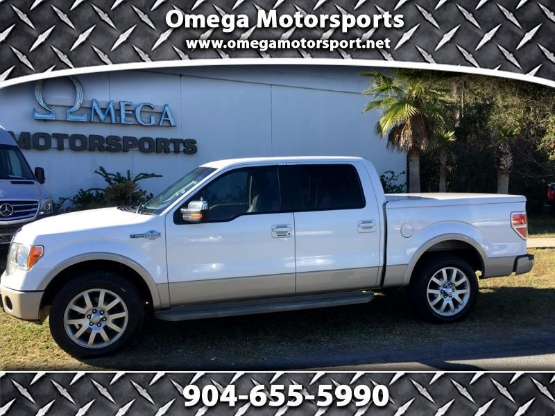 "2010 Ford F-150 2WD SuperCrew 145"" King Ranch"