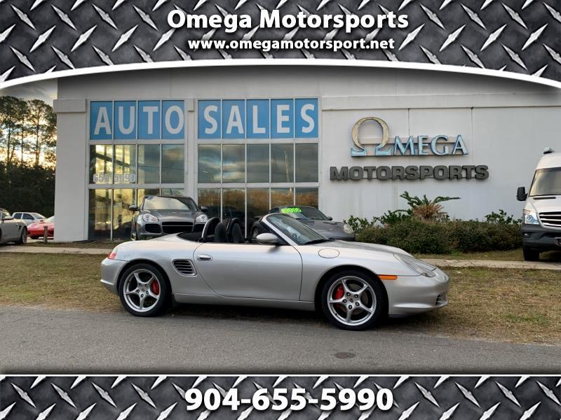 2003 Porsche Boxster 2dr Roadster S 6-Spd Manual