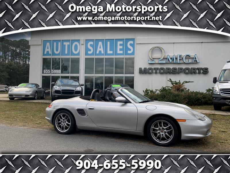 2003 Porsche Boxster 2dr Roadster Tiptronic