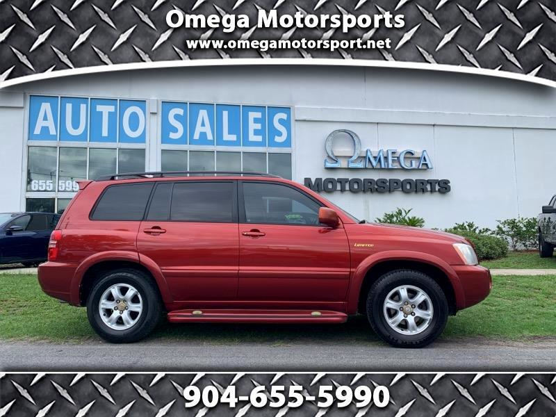 2003 Toyota Highlander 4dr V6 Limited (Natl)