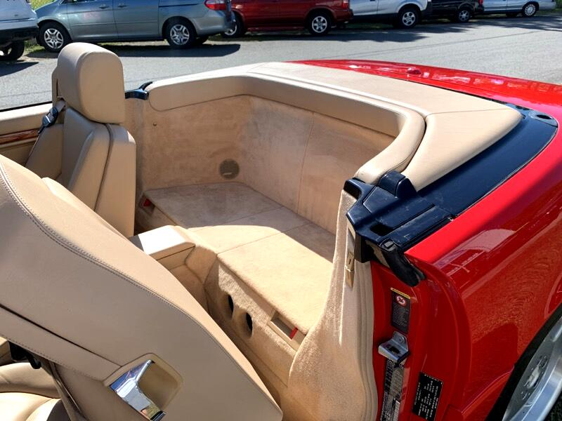 2002 Mercedes-Benz SL-Class 2dr Roadster 5.0L