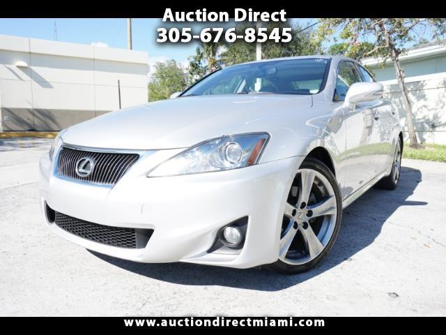 2013 Lexus IS 250 4dr Sport Sdn Auto