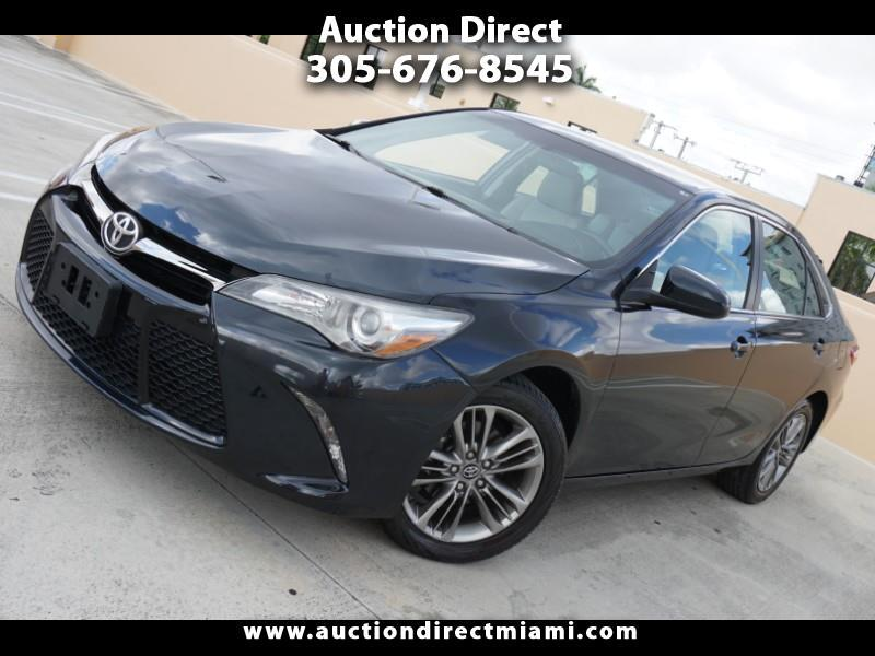 2016 Toyota Camry 4dr Sdn SE Auto (Natl)
