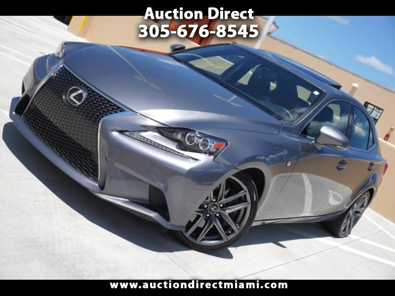 2016 Lexus IS IS Turbo F Sport RWD