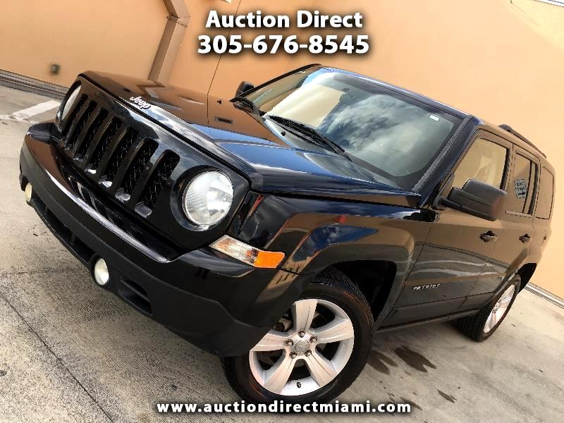 Jeep Patriot Latitude 2WD 2012