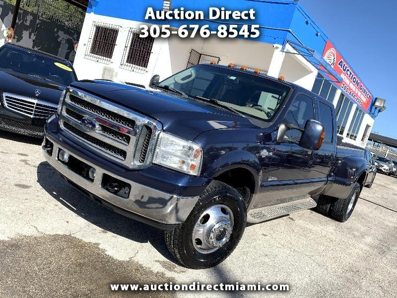 Ford F-350 SD King Ranch Crew Cab Long Bed DRW 4WD 2007
