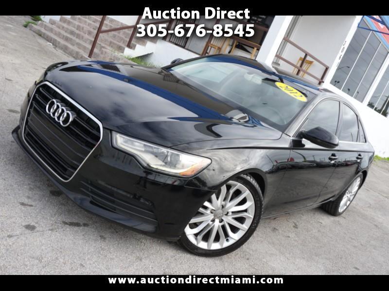 Audi A6 4dr Sdn quattro 2.0T Premium Plus 2012