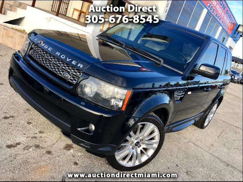 Land Rover Range Rover Sport 4WD 4dr HSE LUX 2013