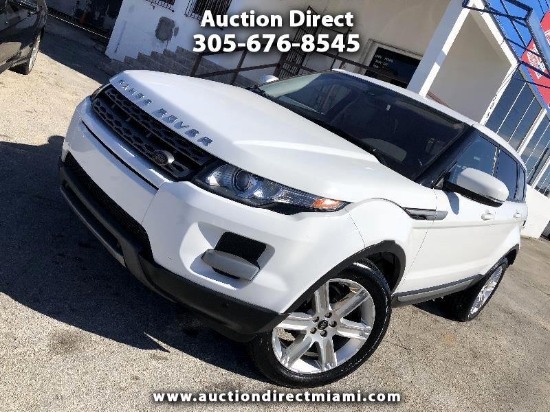 Land Rover Range Rover Evoque Pure Plus 5-Door 2013
