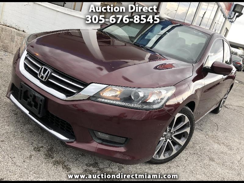 Honda Accord Sport Sedan CVT 2015