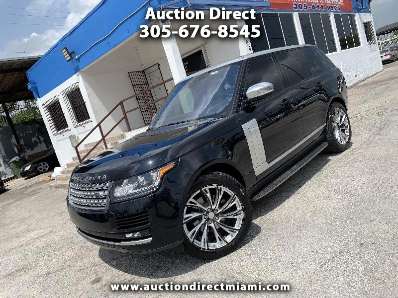 Land Rover Range Rover HSE Td6 2017