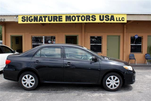 buy here pay here 2011 toyota corolla s 5 speed mt for sale in orlando fl 32808 signature motors usa. Black Bedroom Furniture Sets. Home Design Ideas