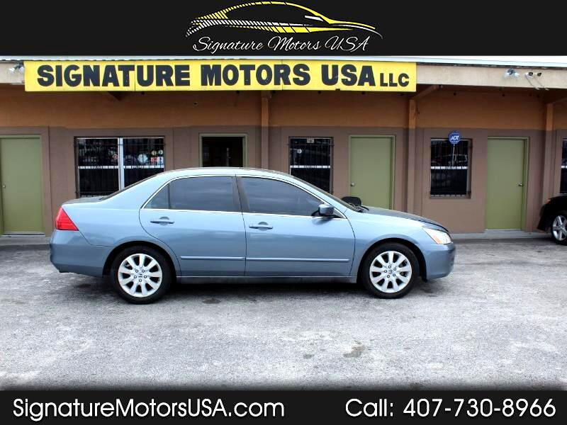 2007 Honda Accord LX V-6 Sedan AT