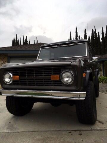 Ford Bronco 4WD 1972