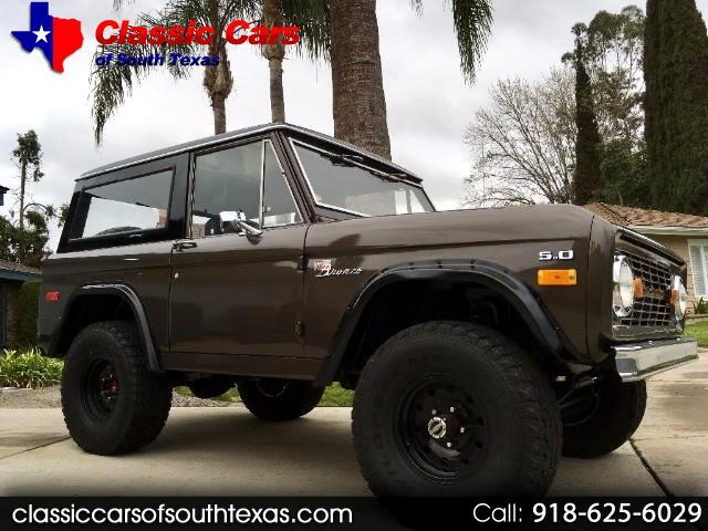 1972 Ford Bronco 4WD
