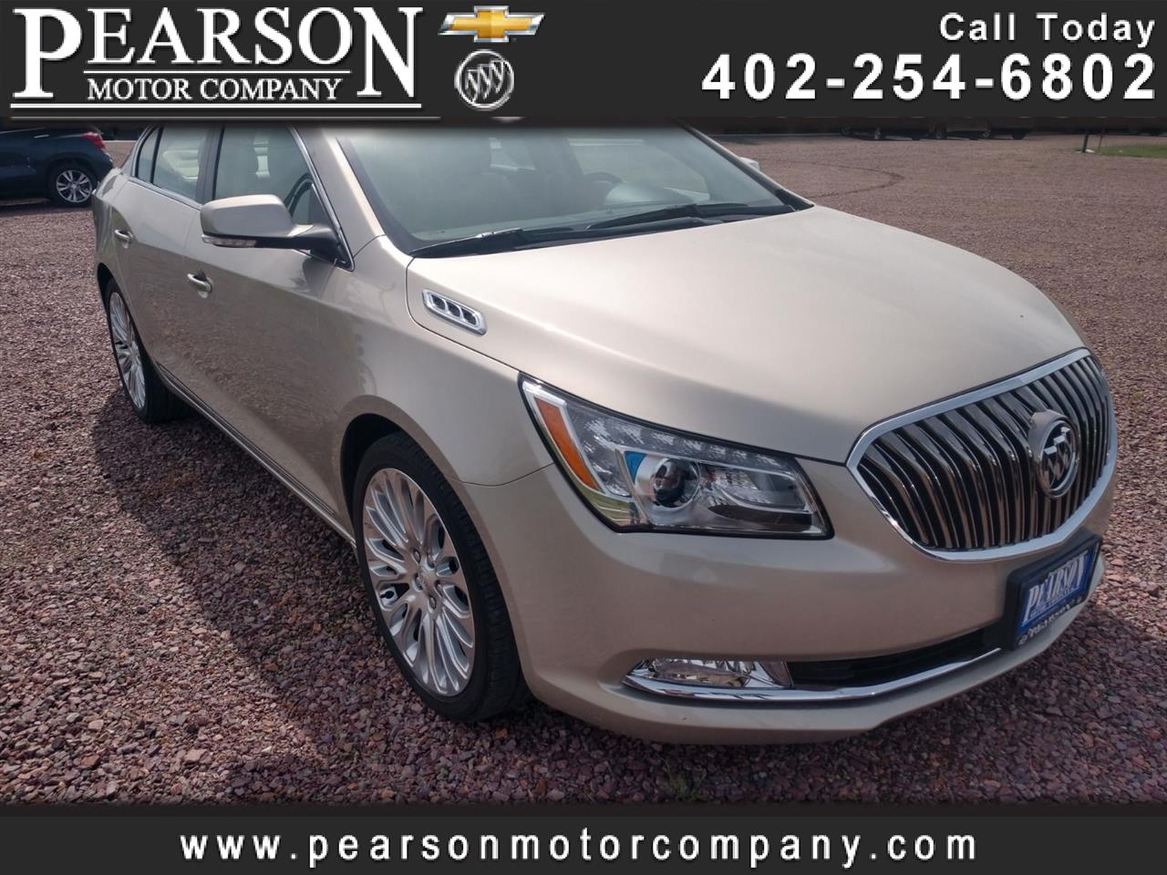 2016 Buick LaCrosse Premium Package 2, w/Leather