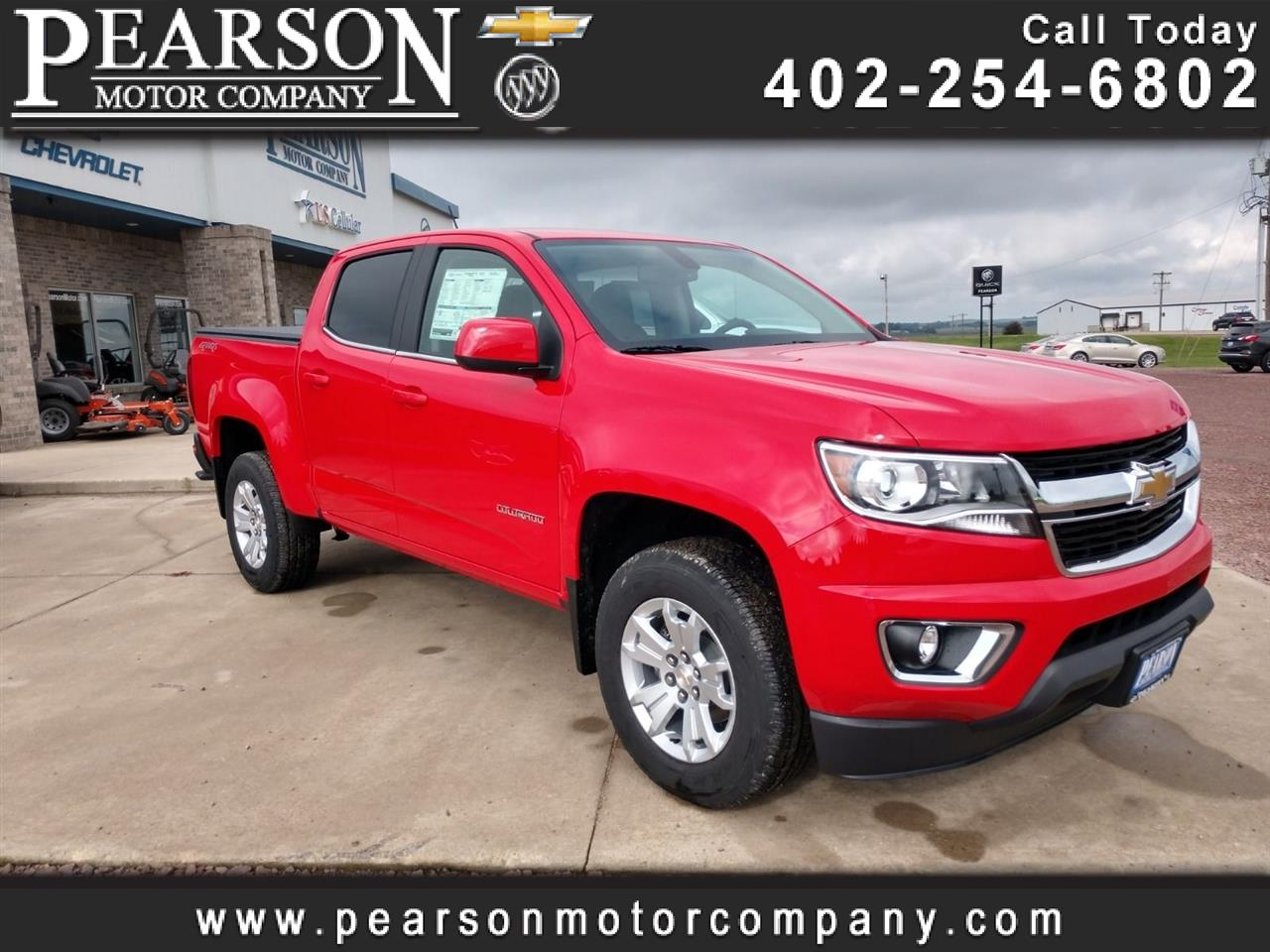 2020 Chevrolet Colorado LT Crew Cab 4WD Short Box