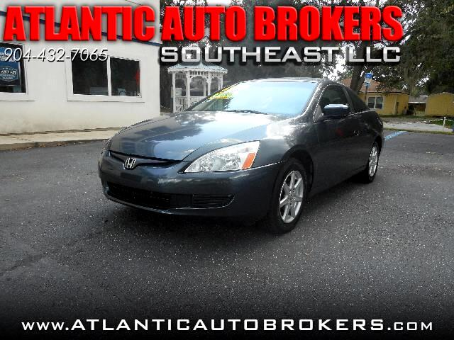2004 Honda Accord EX V-6 Coupe AT with XM Radio