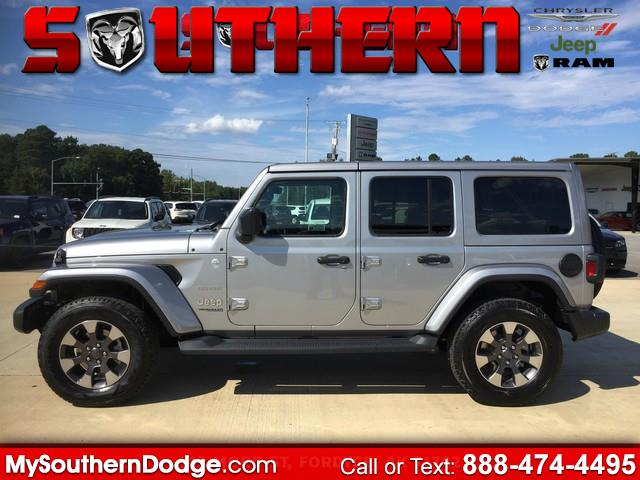 2018 Jeep Wrangler Unlimited Sahara 4x4