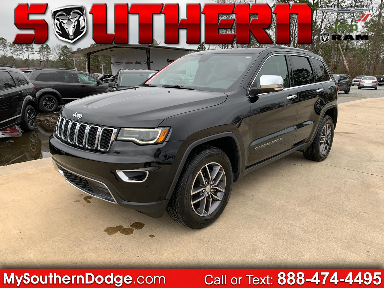 2018 Jeep Grand Cherokee 2WD 4dr Limited