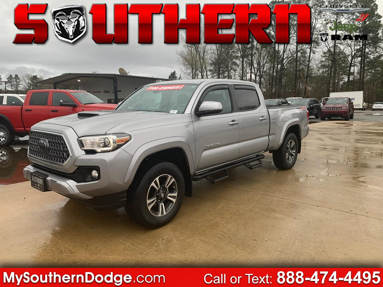 2018 Toyota Tacoma TRD Sport Access Cab 6' Bed V6 4x2 AT (Natl)