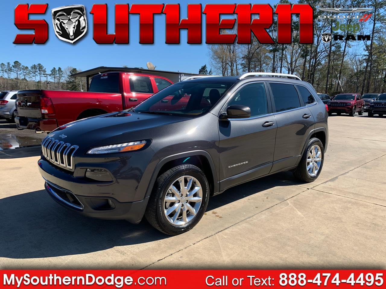 2016 Jeep Cherokee 4dr Limited 4WD