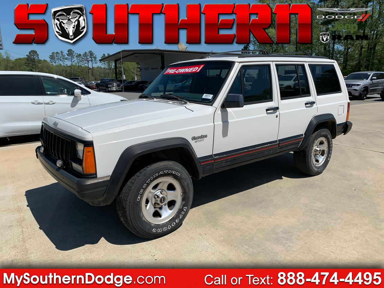 1996 Jeep Cherokee 4dr Sport