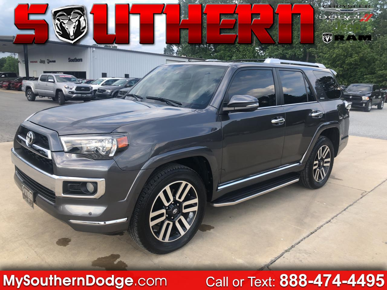 2016 Toyota 4Runner 4dr Limited V6 Auto 4WD (Natl)