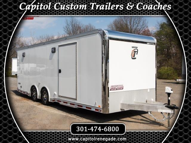 2019 Intech Trailers Icon 24ft Tag Trailer Full Access Door