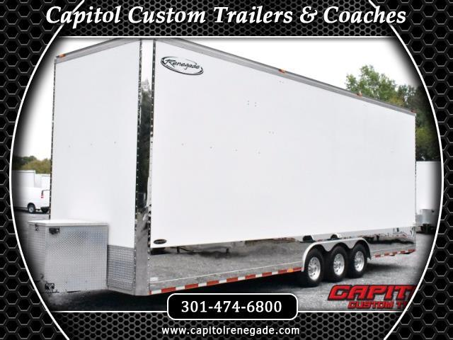 2008 Renegade Stacker Trailer 30ft Tag Stacker SOLD UNIT