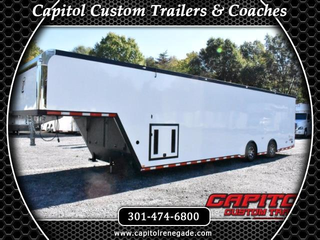 2018 Intech Trailers Gooseneck 40ft Gooseneck Icon Trailer