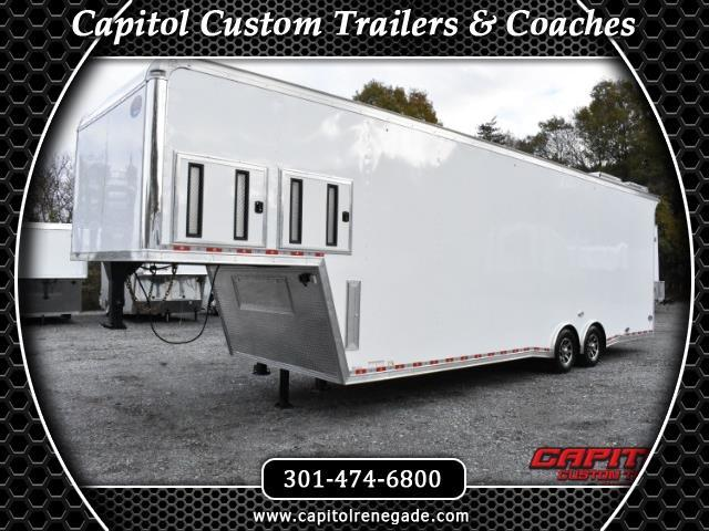 2018 United Trailers Gooseneck 36ft SOLD UNIT