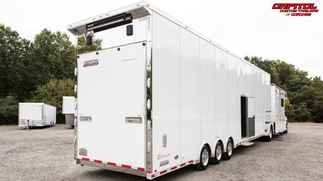 2019 Renegade Toterhome w/ 44' Intech Sprint Car Trailer