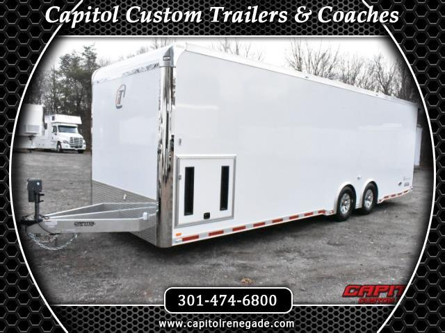 2018 Intech Trailers Custom 28' Intech All Aluminum Icon Trailer