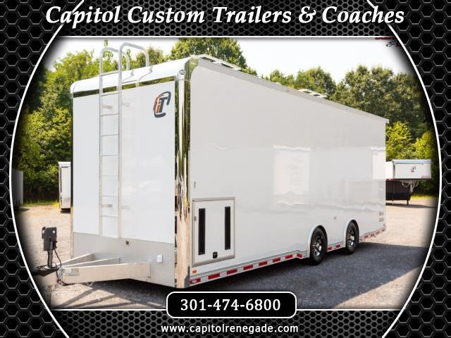 2019 Intech Trailers Custom 28' Sprint Car Hauler