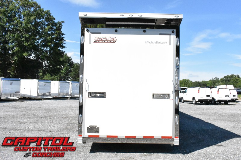 2019 Intech Trailers Gooseneck 42' All Aluminum Sprint Car Trailer