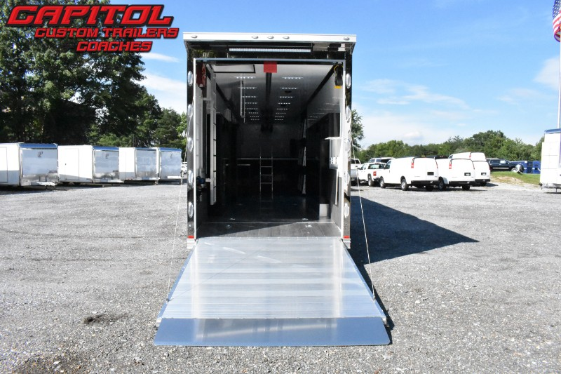 2020 Intech Trailers Gooseneck 42' All Aluminum Sprint Car Trailer