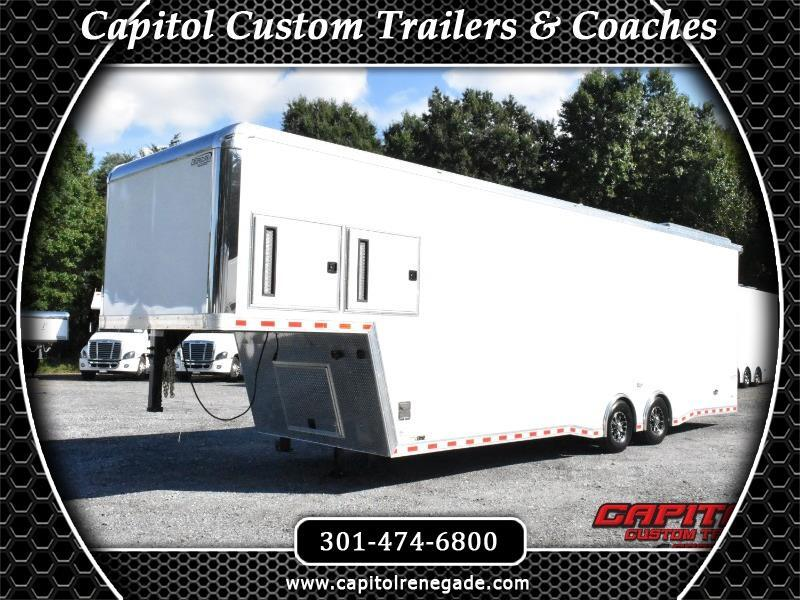 2019 Bravo Trailers Icon 36' Sprint Car Hauler