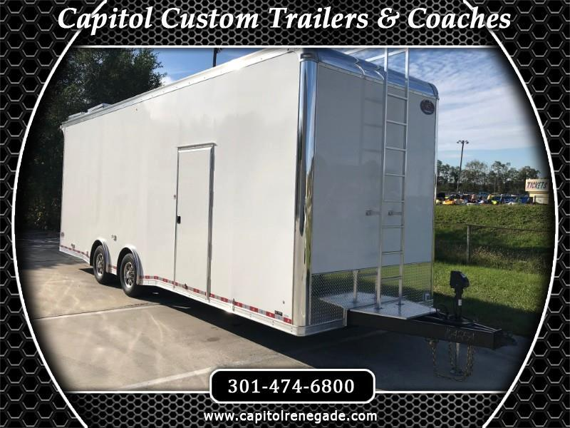 2019 United Trailers Super Hauler 28' Sprint Car Hauler All LED Lights
