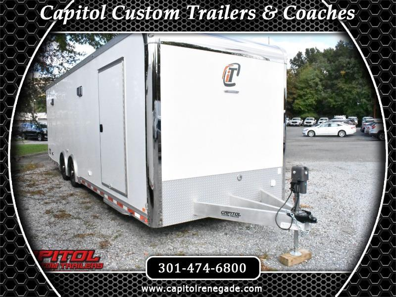 2019 Intech Trailers Icon 28' Tag Full Access Door Trailer