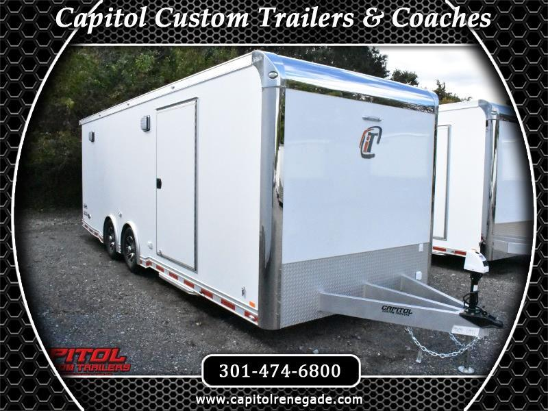 2019 Intech Trailers Icon 24' Tag Trailer Full Access Door