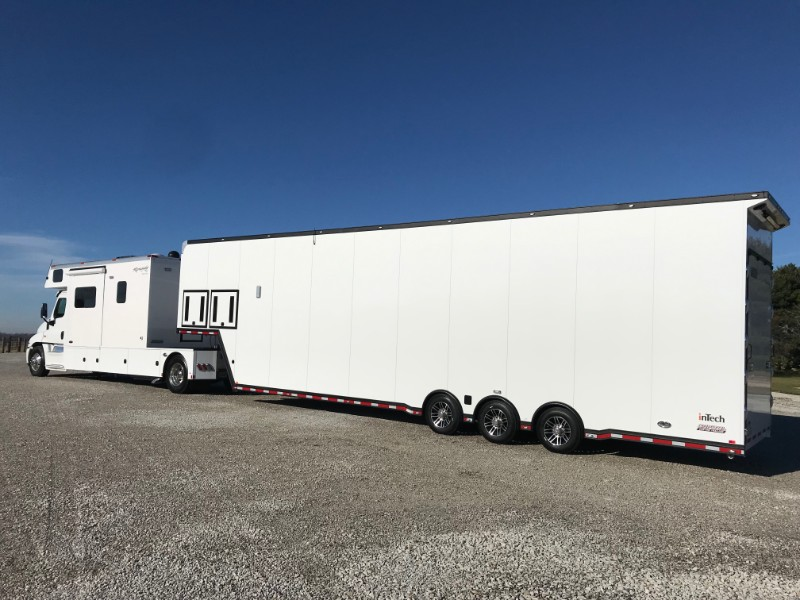 2019 Renegade Toterhome w/ 44' Intech Sprint Car Hauler