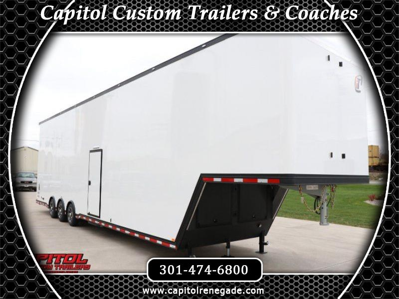 2019 Intech Trailers Gooseneck 44' All Aluminum Sprint Car Trailer