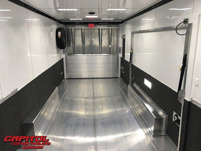 2019 Intech Trailers Icon 28' Tag Trailer Full Access Door